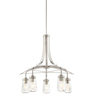 Brayden Studio Omeara 5-Light Shaded Chandelier