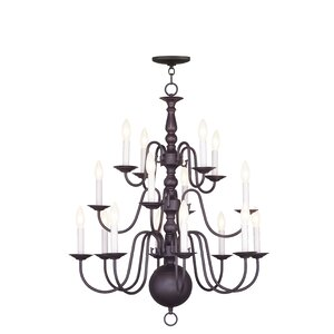 Allensby 16-Light Candle-Style Chandelier
