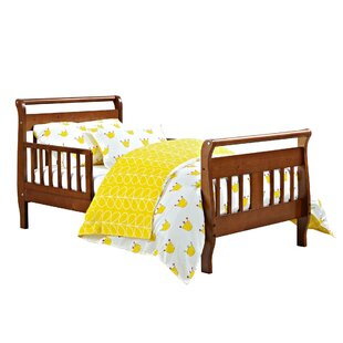 Cadorette Sleigh Bed by Harriet Bee