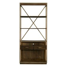 Santa Clara 80 Accent Shelves Bookcase by Stanley Furniture