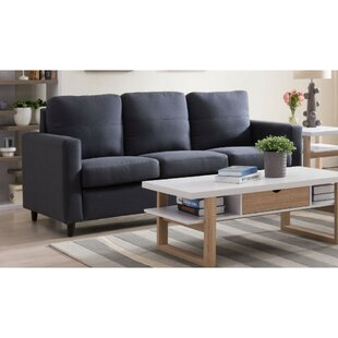 Carly Highly Cushioned 3-Seat Sofa by Wrought Studio