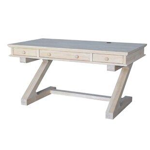 Gidney Solid Wood Writing Desk by Red Barrel Studio