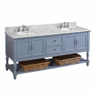 Great Price Beverly 72 Double Bathroom Vanity Set By Kitchen Bath Collection