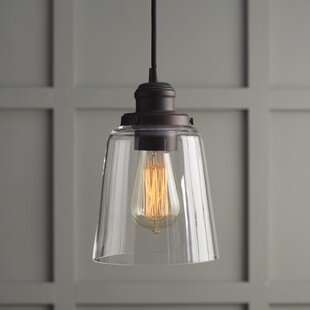 1 Light Single Bell Pendant
