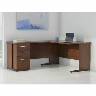 Series C Elite L-Shape Executive Desk with Storage By Bush Business Furniture