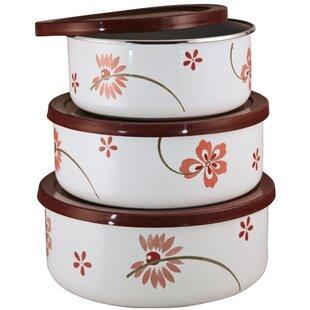 Corelle Cordinates 3 Container Food Storage Set