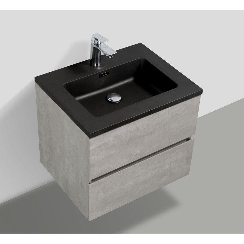 Ivy Bronx Tesoro 30 Wall Mounted Single Bathroom Vanity Set Wayfair