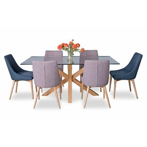Danna 7 Piece Dining Set By Corrigan Studio