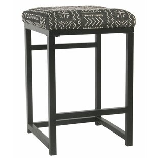 Delsur Metal Open Back 24 Bar Stool by Brayden Studio