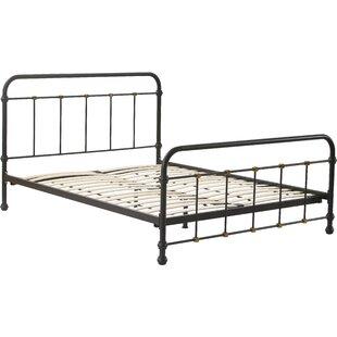 Renaud Parisian Metal Platform Bed