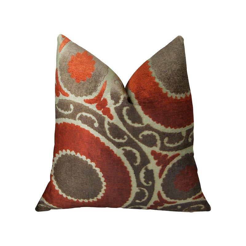 Plutus Brands Pomegranate Throw Pillow Wayfair