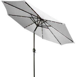 Burnley Solar LED 7' Market Umbrella by Freeport Park