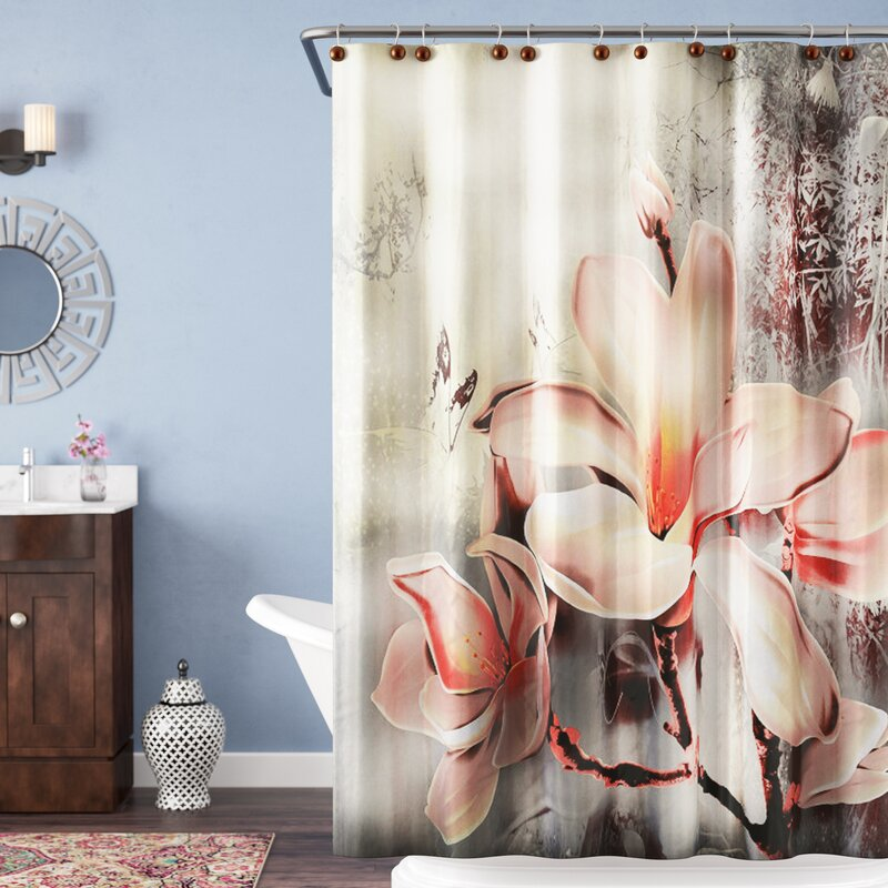 Caledonia Fancy Lily Shower Curtain