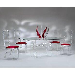 Muniz Crystal 5 Piece Dining Set