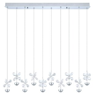 Purcell 10-Light Kitchen Island Pendant by Everly Quinn