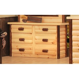 Chelsea Home Furniture Chester 6 Drawer Double Dresser Image