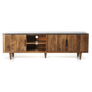 Carter Solid Wood TV Stand for TVs up to 78 by Eleonora