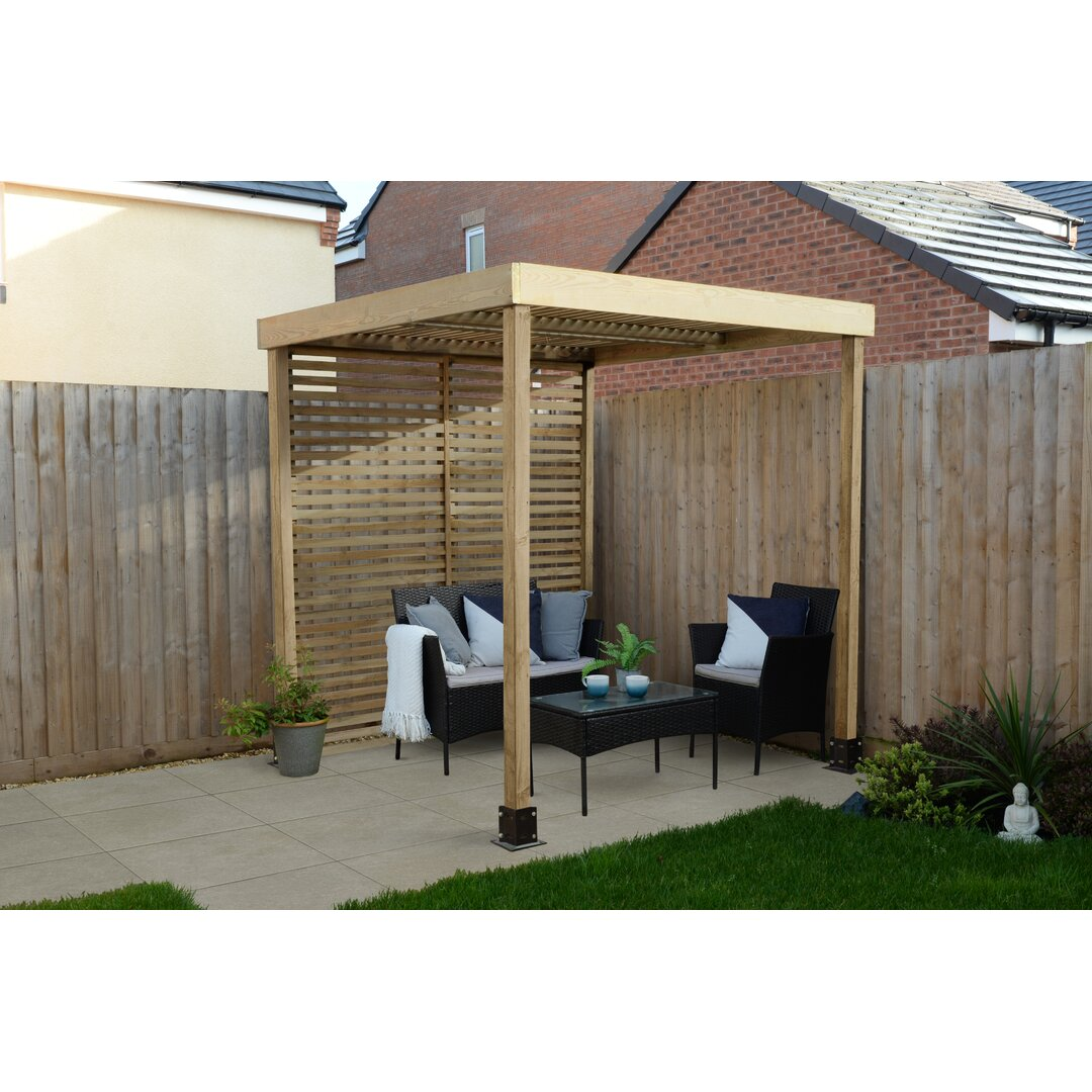 Modular Pergola With 1 Side Panel Pack