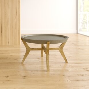 Dominick Coffee Table With Tray Top By Isabelline