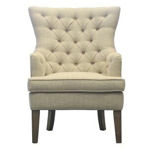 Inexpensive Kalmanovitz Wingback Chair ByOphelia & Co.