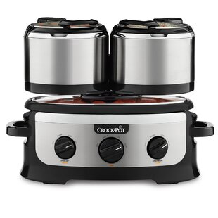 3.5 Qt. Swing and Serve Slow Cooker (Set of 7)