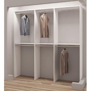 Demure Design 81W Closet System ByTidySquares Inc.
