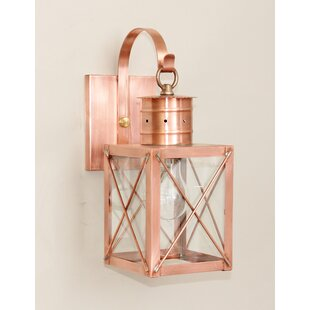 Check Prices 200 Series 1-Light Outdoor Wall Lantern By Brass Traditions