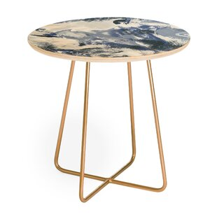 Jacqueline Round End Table by East Urban Home