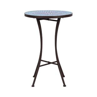 Maone Folding Iron Side Table