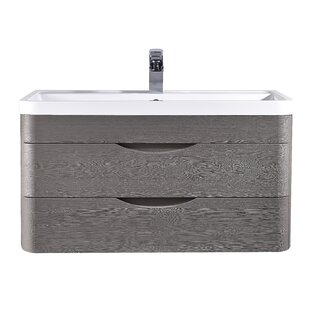 Claremont 800mm Wall Mount Vanity Unit By Mercury Row