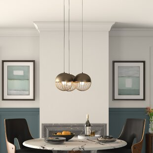 Mccully 3-Light Kitchen Island Pendant by Mercury Row