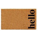 Marquis Vertical Hello Non-Slip Outdoor Door Mat
