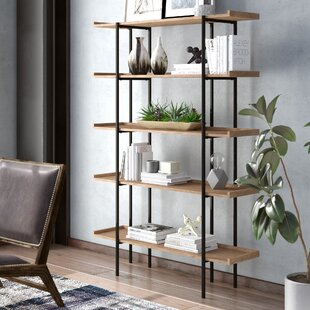Best Deals Hickenbottom Etagere Bookcase by 17 Stories