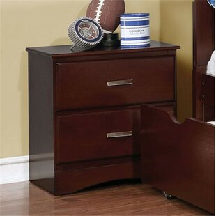 Segars Kids 2 Drawer Nightstand by Harriet Bee