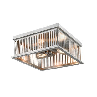Ivy Bronx Beddingfield 3-Light Flush Mount