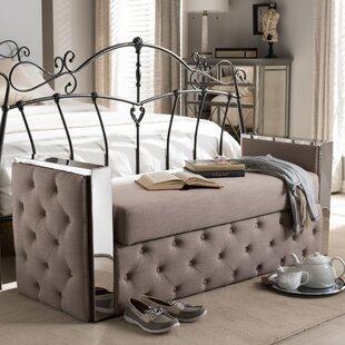 Orren Ellis Utley Upholstered Storage Bench