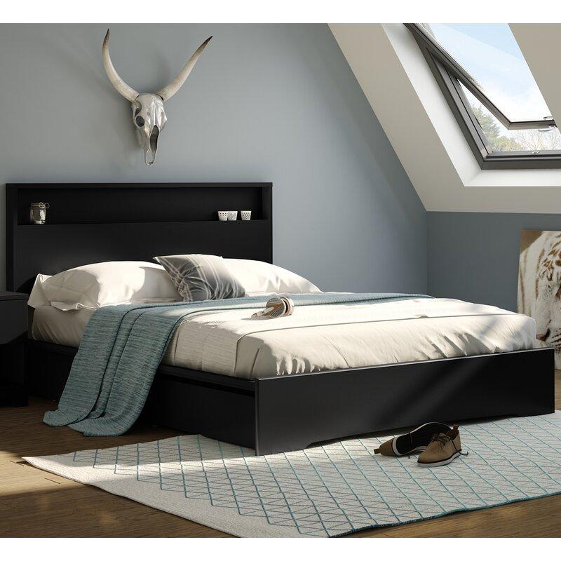 South Shore Basic Queen Storage Platform Bed Reviews Wayfair