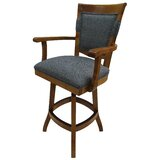 Rosemarie Bar & Counter Swivel Stool (Set of 2) by Red Barrel Studio®