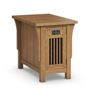 Best Reviews FLW Chairside Table With Drawer By Caravel