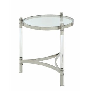 Gasaway End Table by Everly Quinn