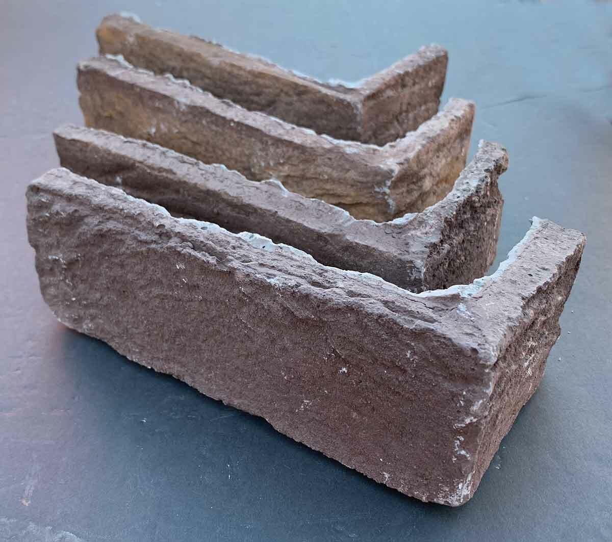 Faceables Brick Corners 3 X 14 Cement Subway Tile Wayfair