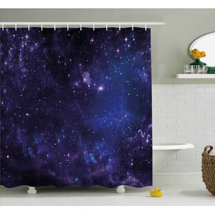 Inspiring Starway View Shower Curtain + Hooks