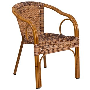 Mistana Keyla Rattan Restaurant Patio Chair