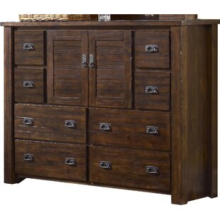 Loon Peak Bison Ridge 8 Drawer Combo Dresser
