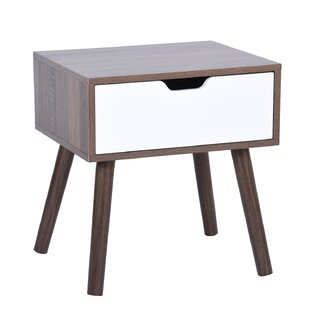 Cottingham End Table with Storage