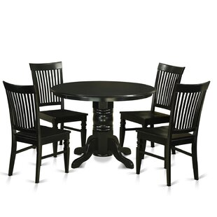 Sherlock 5 Piece Dining Set by August Grove Best