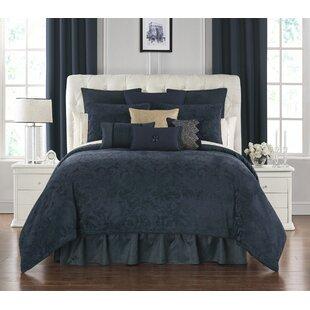 Leighton 4 Piece Reversible Comforter Set