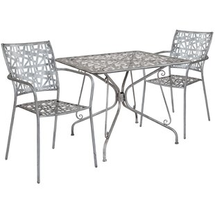 Windbrook 3 Piece Dining Set by Wrought S..