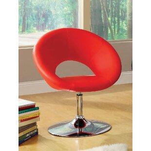 A&J Homes Studio Kate Swivel Papasan Chair