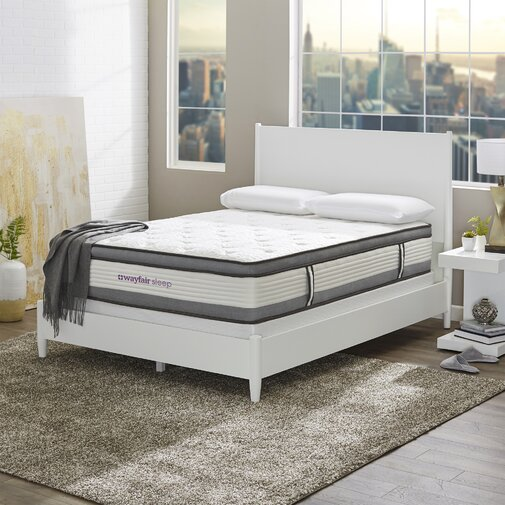 Wayfair Sleep 12in. Firm Hybrid Mattress